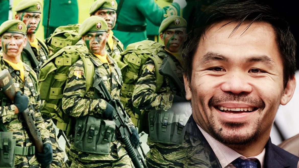 Pacquiao joins roster of PH Army advisers