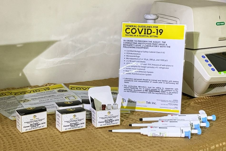 Locally-made Covid-19 test kit okay for commercial use: DOH