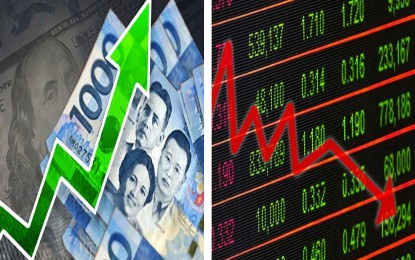 Peso strengthens anew, stocks index drops