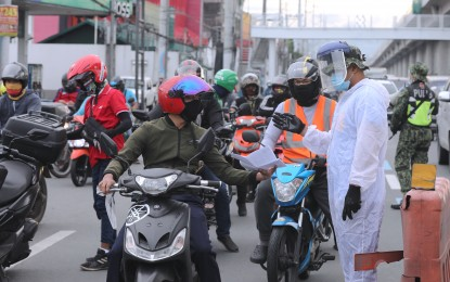Motorcycle back riding allowed for essential workers in MECQ