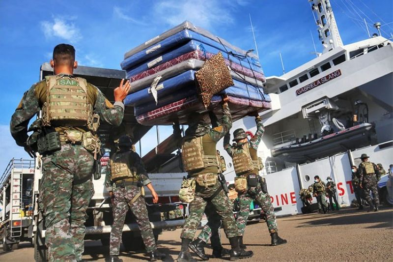 151 SAP troops leave Cebu City after helping in Covid-19 response