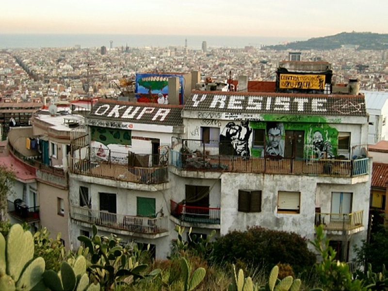 Spain a paradise for squatters