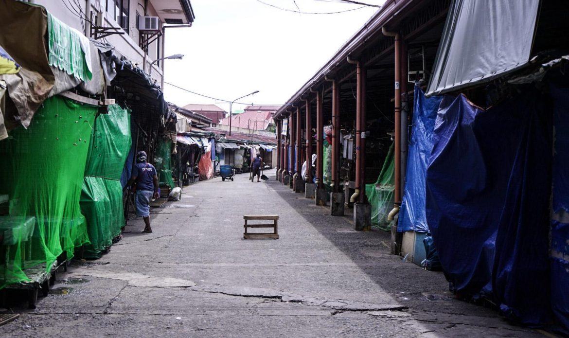 Zapote public market shuttered for 1 week due to Covid-19