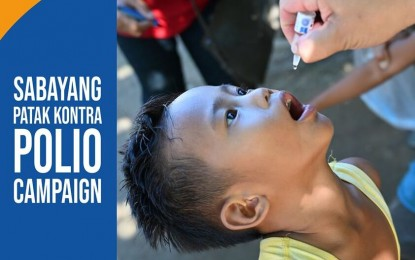 2nd phase of C. Luzon anti-polio drive rolls out Aug. 3