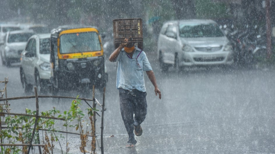 Southwest monsoon, LPA to bring scattered rains Monday