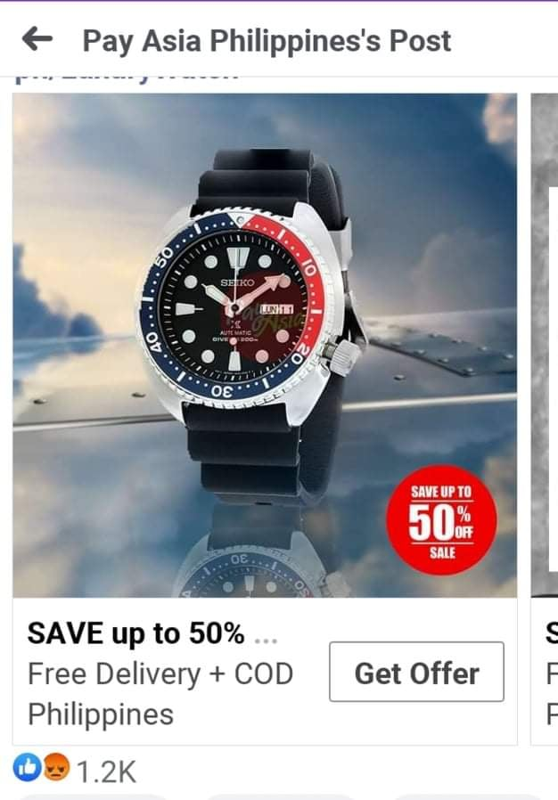 Online consumer advocate warns buyers of fake Seiko watches