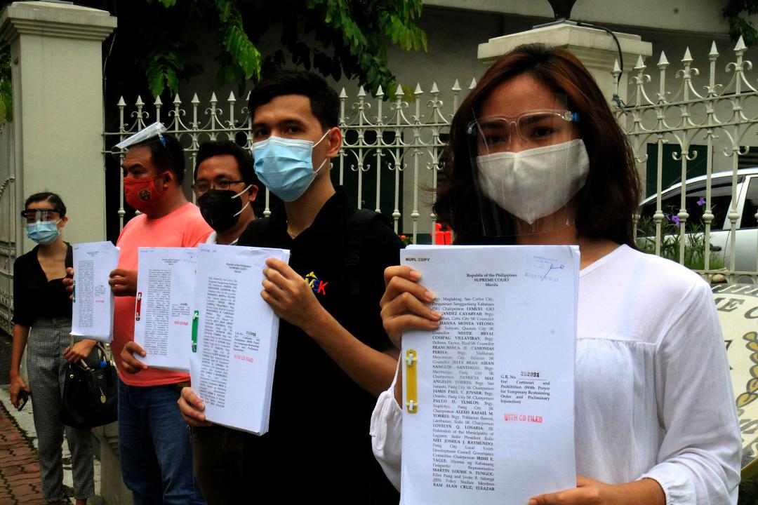 Youth leaders file 29th petition vs anti-terror law