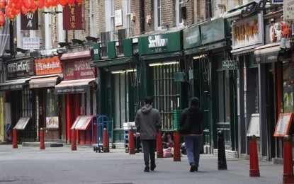 Britain enters deepest recession on record due to pandemic