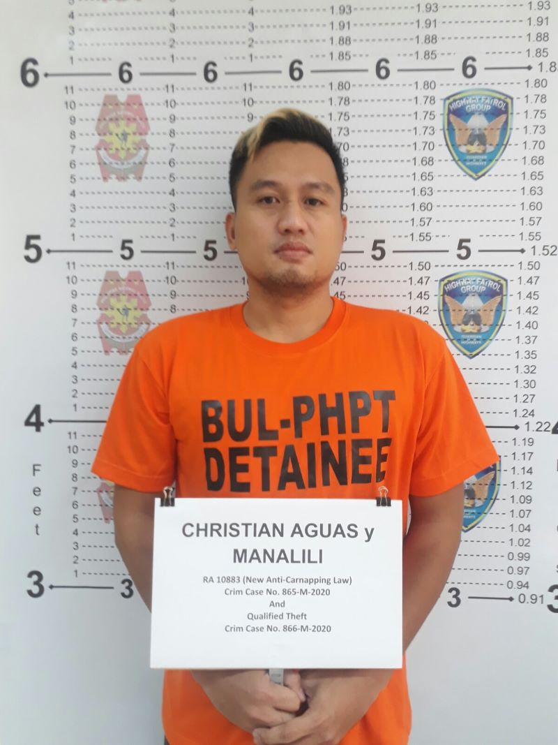 PH's 8th most wanted carnapper arrested after 3-day HPG monitoring