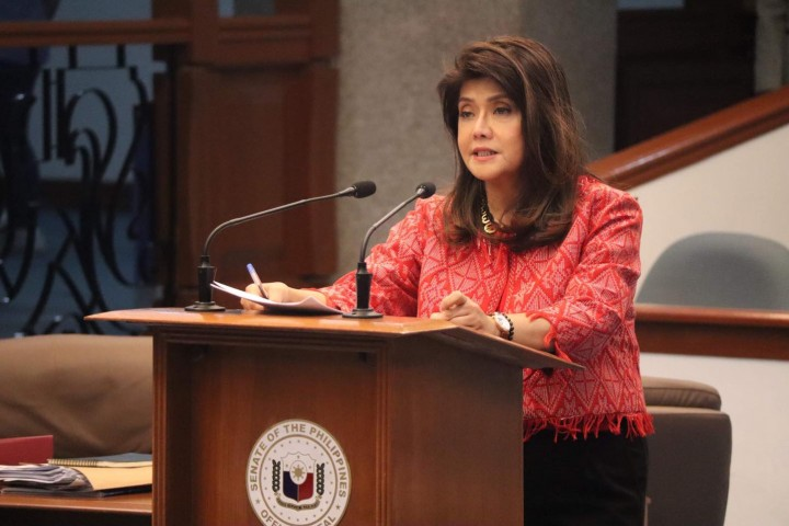 Imee asks DTI to hold price hikes for basic goods until after lockdowns