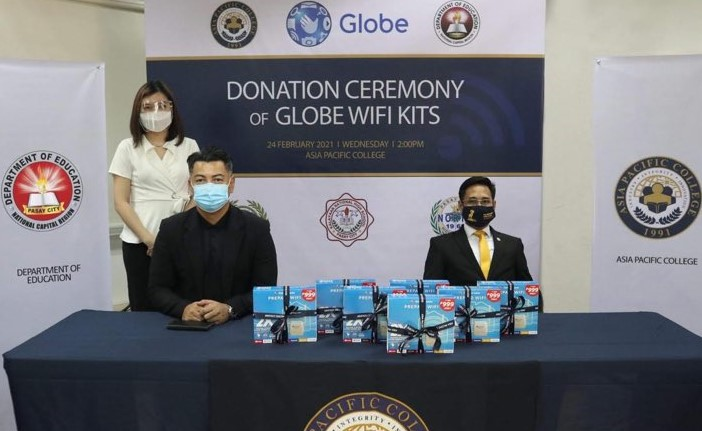 Globe and Asia Pacific College Support DepEd Students with Free Connectivity Solutions