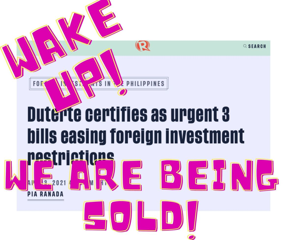 Wake Up! We are being Sold!