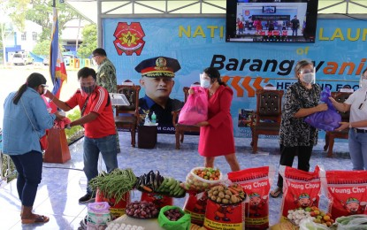 Over 33K Caraga residents served by police food bank project