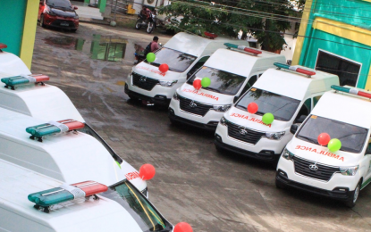 Maguindanao rural health units get ambulances from BARMM