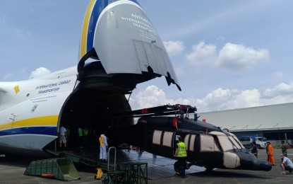PH Air Force boosts capability with 5 new Black Hawk helicopters