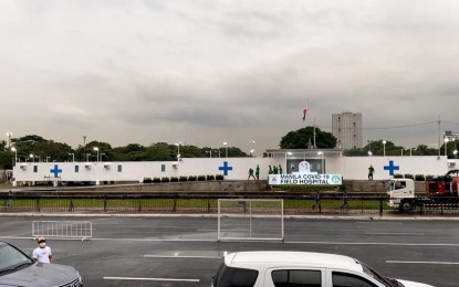Manila completes Covid-19 field hospital in 52 days