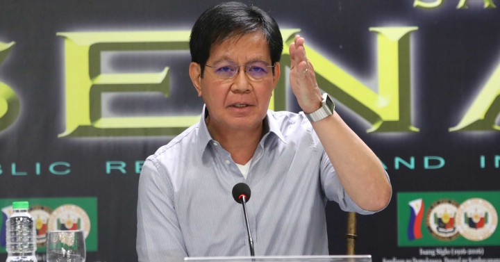 Lacson guarantees equality for women under his presidency