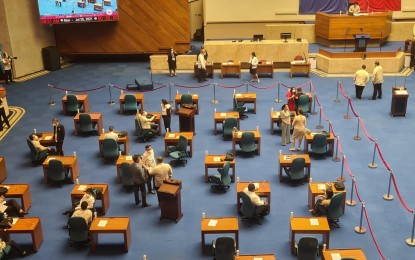 House opens session amid strict health protocols, hours before PRRD's 6th, last SONA