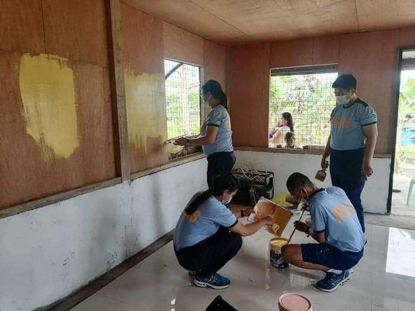 PNP builds daycare center in Davao del Sur