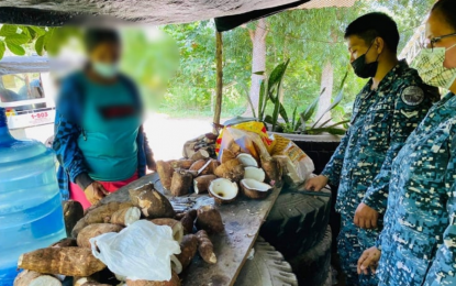 NoCot jail guards seize tobacco concealed in cassava tubers