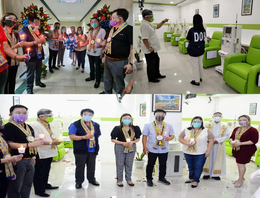 DOH-Calabarzon inaugurates San Pablo District Hospital Dialysis Center for Covid-19 patients