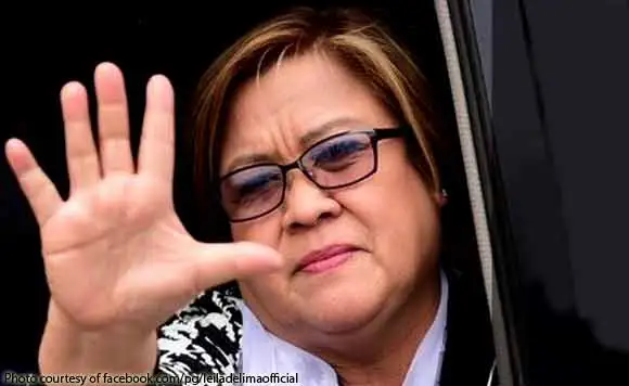 De Lima chides Duterte for falsely claiming Filipinos benefited from drug war