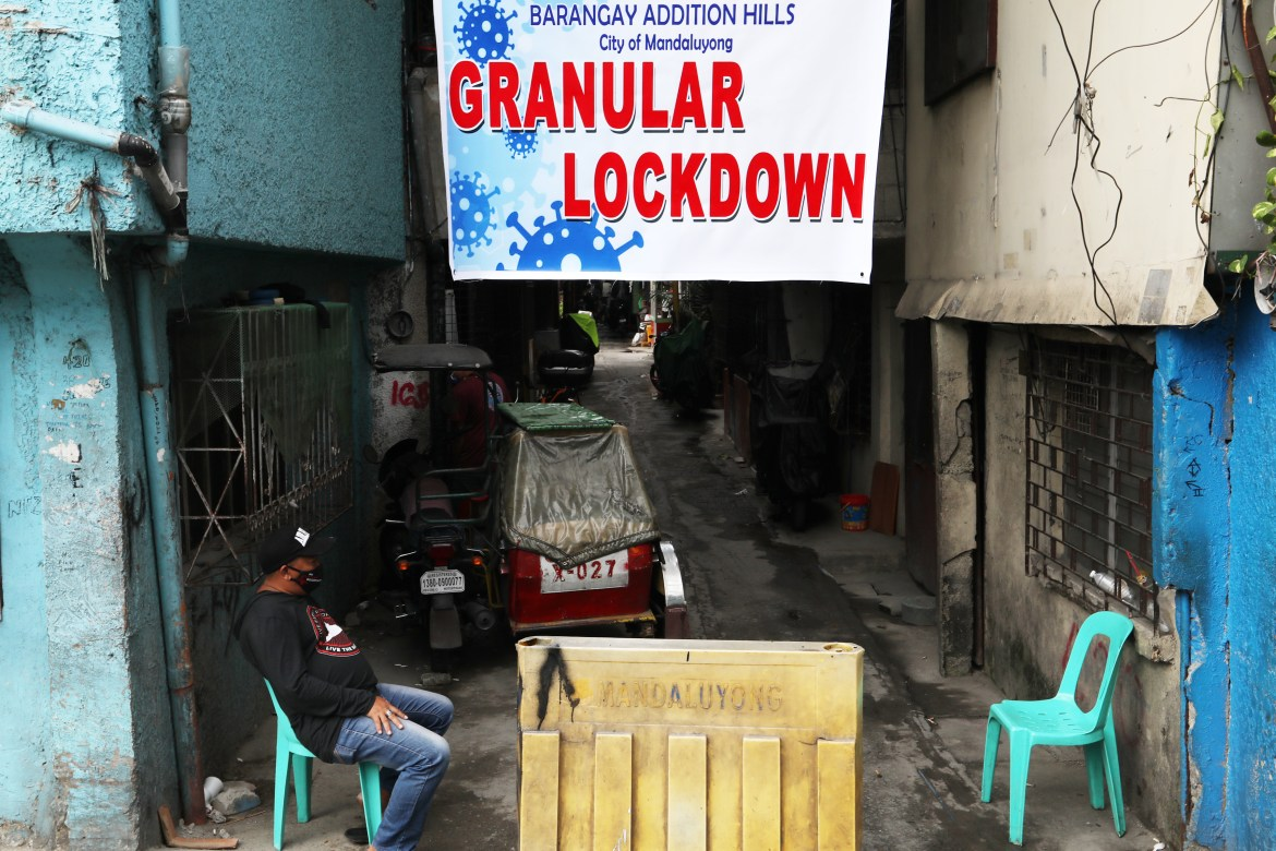 PNP to strictly enforce granular lockdowns with MM under MECQ mode
