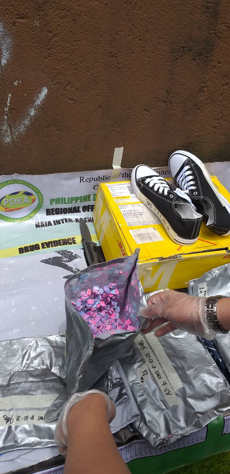 Authorities seize P3-M worth of illegal drugs in controlled delivery ops
