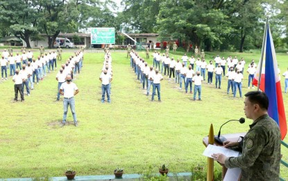 120 Army reservists undergo military training in Tarlac