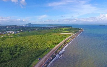 Leyte seawall substantially completed by 2022: DPWH