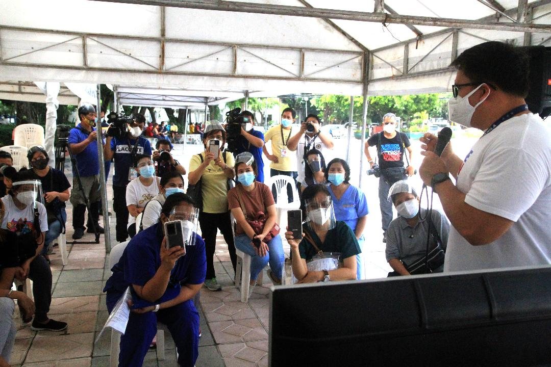 2K+ individuals respond to Yorme's call for volunteerism on Manila's 24/7 vaccination