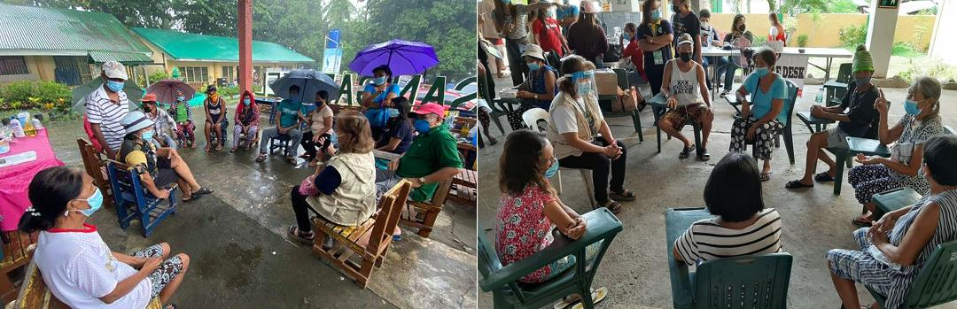 DOH-Calabarzon provides psychological 1st aid to 132 Taal evacuees