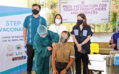 DOT eyes to vaccinate 31K Palawan tourism workers