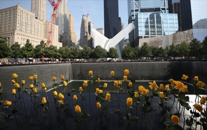 'Sudden splendor in face of death' on 20th anniversary of 9/11