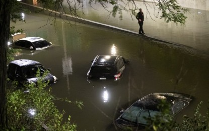 Some Pinoys in NY suffer damage to home, vehicles due to floods