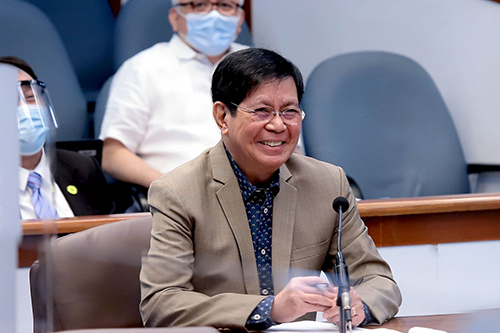 Lacson shrugs off Duterte's call to stop ongoing probe on overpriced medical supplies, mismanage COVID funds