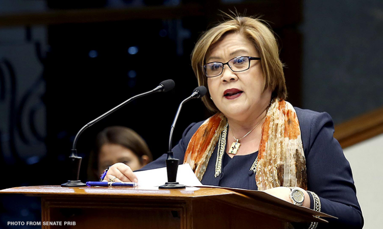 Duterte's move to prioritize counter-insurgency over pandemic response heartless, mindless – De Lima