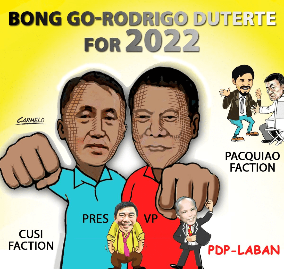 Go appeals to PDP-Laban party mates to respect his decision decliningnomination to run for President