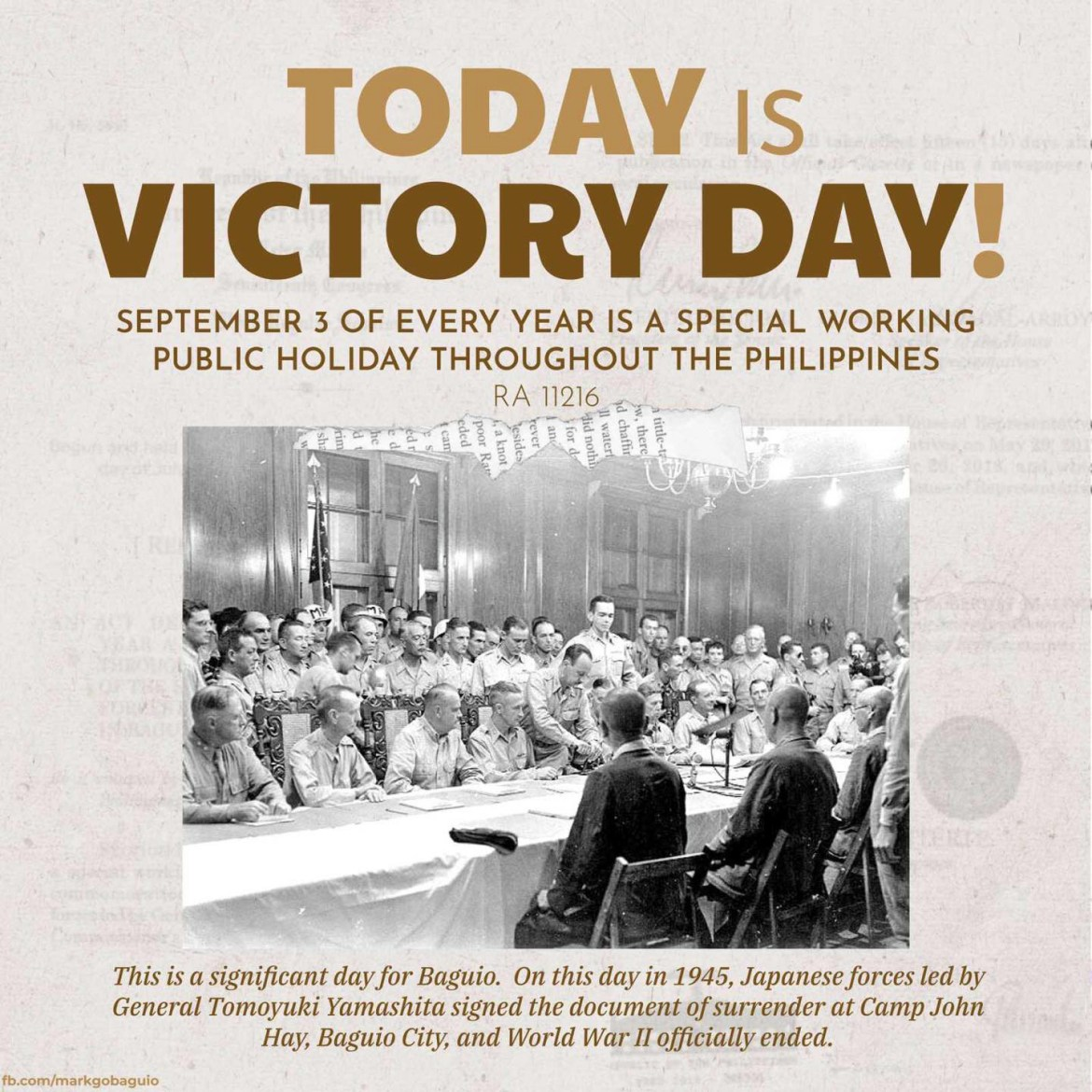 September 3 is 'Victory Day'