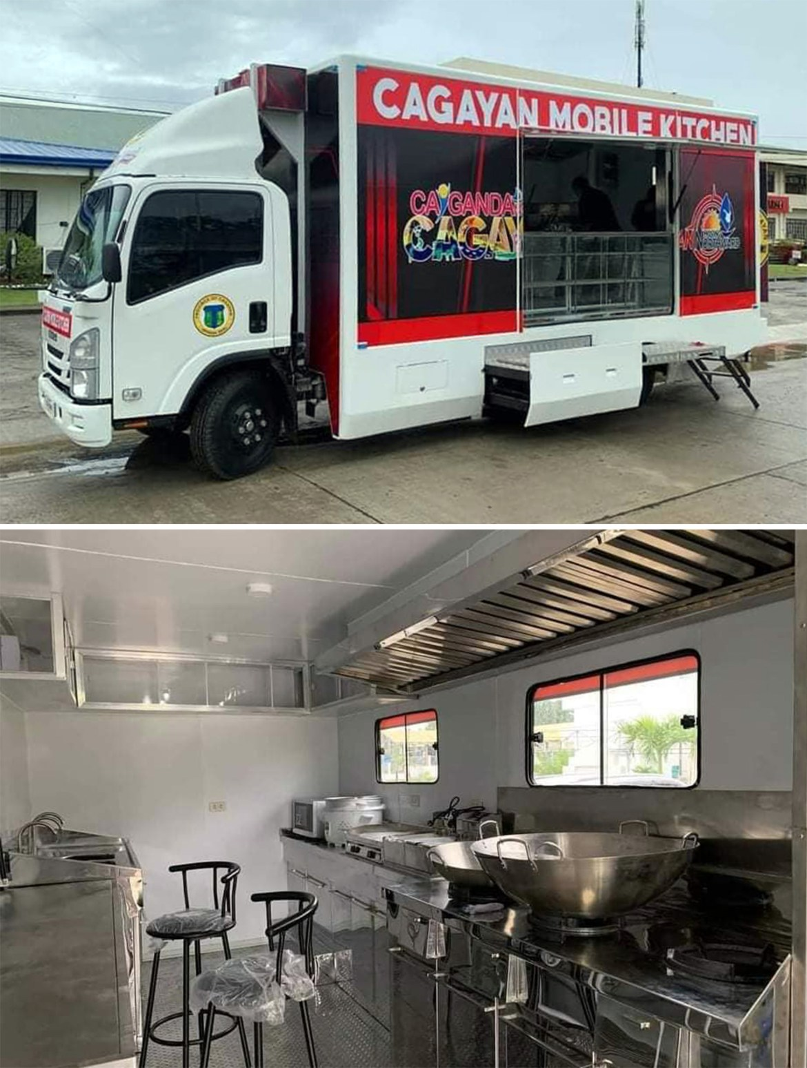 Cagayan dispatches mobile kitchen to augment relief ops for typhoon Kiko victims