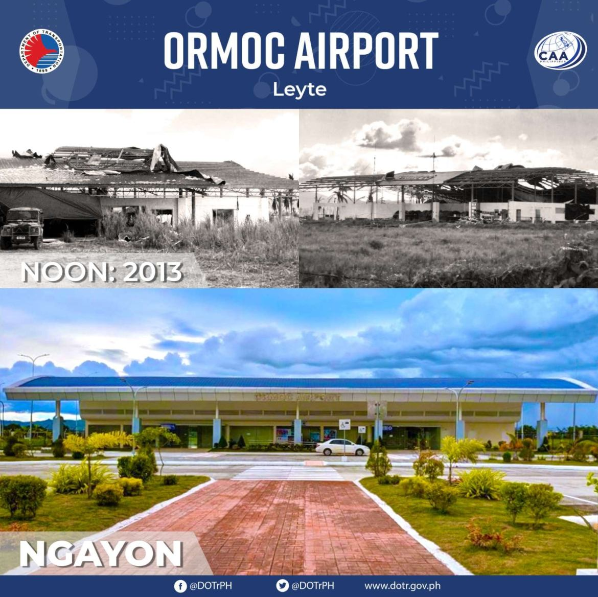 DOTR completes renovation works on Ormoc airport in Leyte