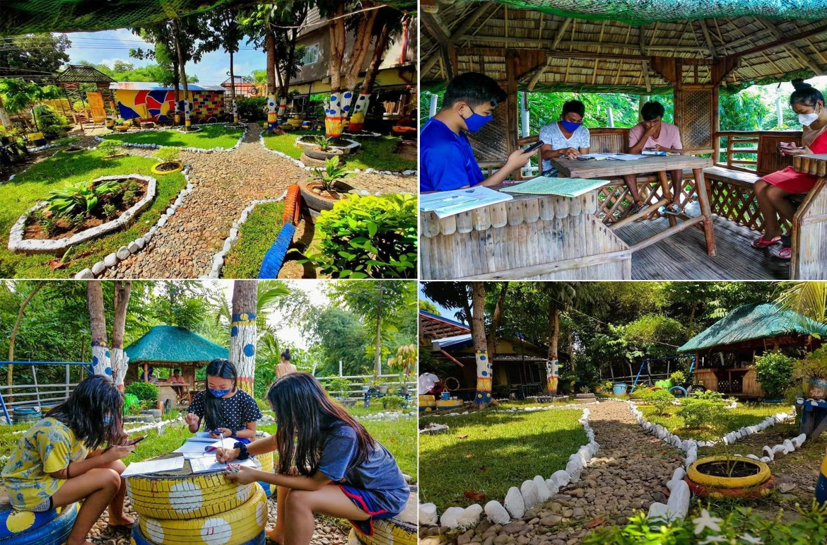Study park constructed for students in Tuguegarao City