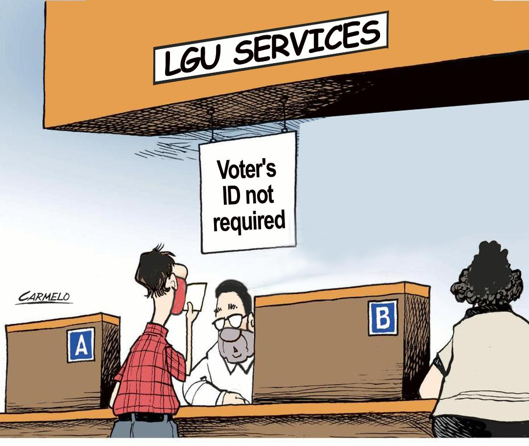 Voter's ID not required to access LGU services: DILG