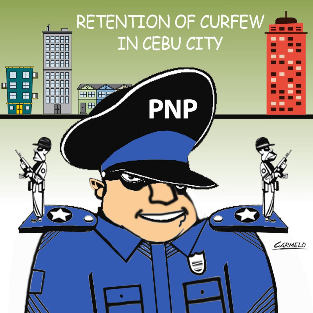 Cops call for retention of curfew, other measures in Cebu City
