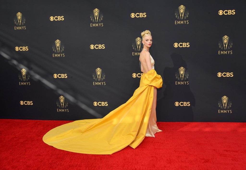 Television's best bring glamour to Emmys red carpet