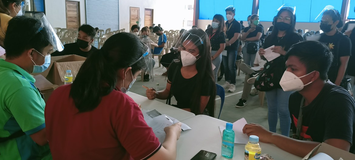 Labor chief led DOLE and local officials in awarding of safety seals, freebies, and livelihood packages in Lucena City