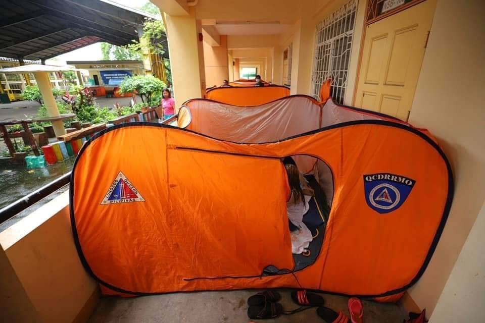 QC suspends afternoon operations due to typhoon 'Jolina'; pre-emptive evacuation ongoing