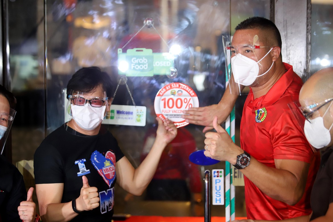 San Juan business establishments with fully vaccinated workforce get VIP 'treatment'