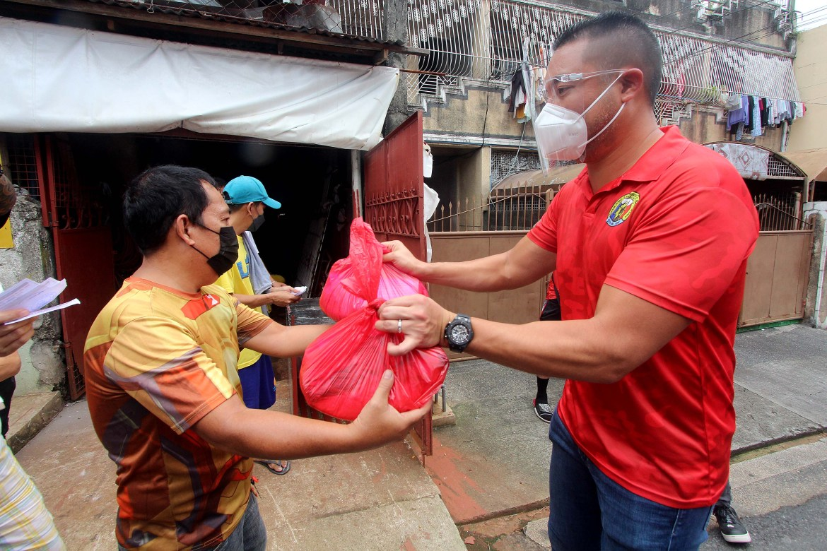 San Juan implements 17th wave of Ayuda distribution in the city