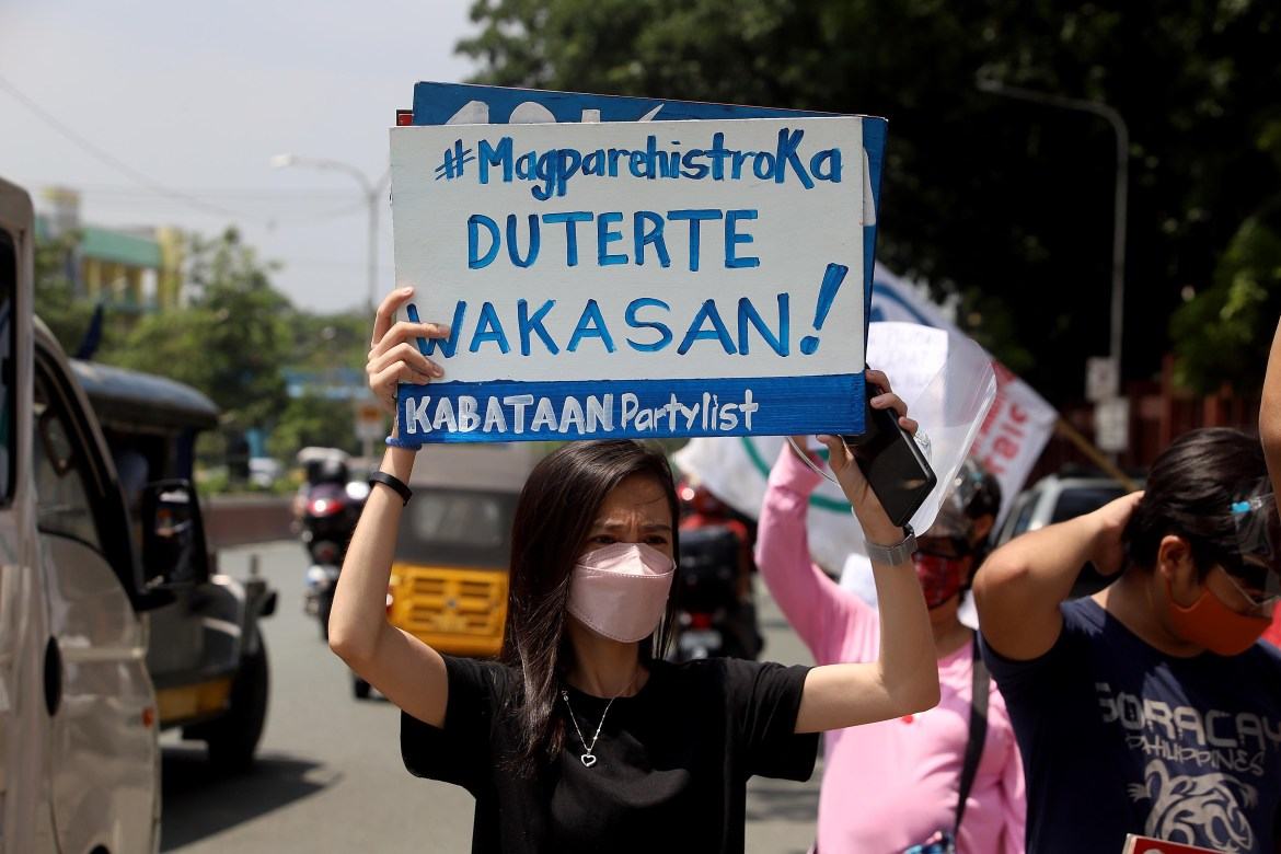 Pressure groups stage protest rally at Congress in QC